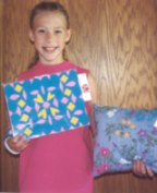 4 h project, placemat, pillow