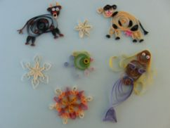 4 h project, quilling creatures