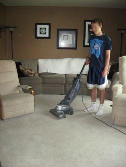 printable chore charts, vacuuming