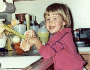 chores for kids, washing veggies