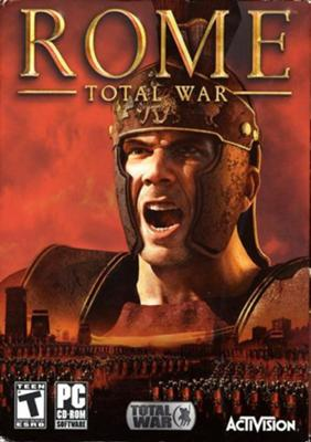 Rome Total War Boxshot