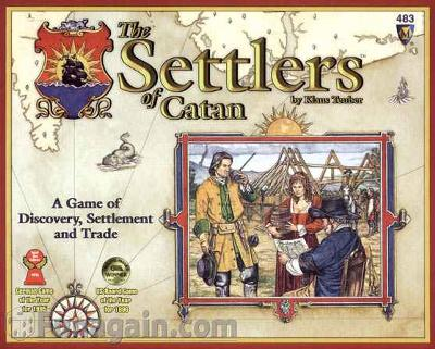 Old Box Front<settlers of catan>
