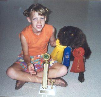 4 h dog show, dog show trophy