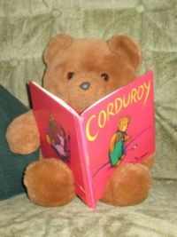 home school book lists, corduroy reading
